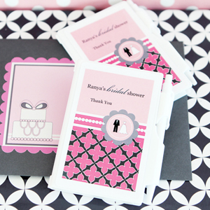 Personalized Notebook Favors - Wedding Shower  wedding favors
