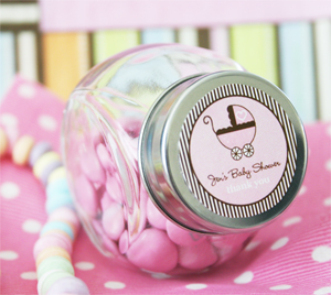 Baby Shower Candy Jars wedding favors