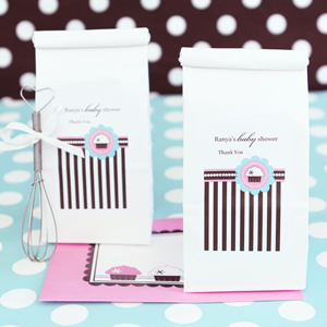 Personalized Muffin Mix - Cupcake Party wedding favors