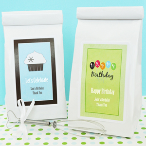 Personalized Birthday Sugar Cookie Mix  wedding favors