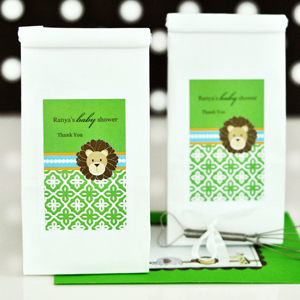 Personalized Sugar Cookie Mix - Jungle Safari wedding favors