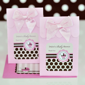 Sweet Shoppe Candy Boxes - Pink Baby wedding favors