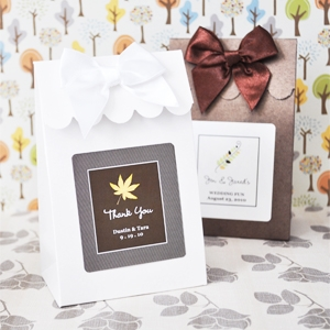 Sweet Shoppe Candy Boxes - Fall wedding favors