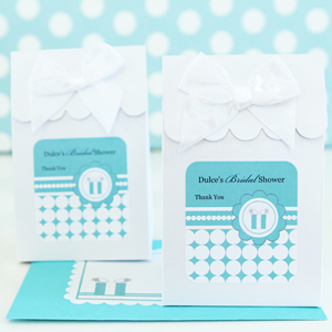 Sweet Shoppe Candy Boxes - Something Blue wedding favors