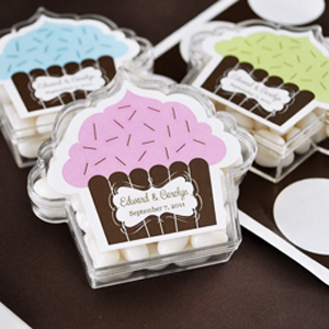 Cupcake Acrylic Favor Boxes wedding favors