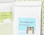 Baby Animals Personalized Muffin Mix  wedding favors
