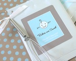 """Babies are Sweet"" Personalized Hot Cocoa with optional whisk wedding favors"