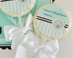 Personalized Lollipop Favors - Beach Party wedding favors