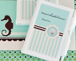 Personalized Notebook Favors - Beach Party wedding favors