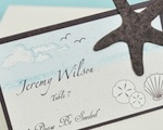 """Please Be Seeded"" Starfish Plantable Seed Place Cards wedding favors"