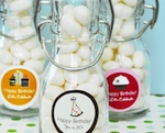 Personalized Birthday Mini Glass Bottles  wedding favors
