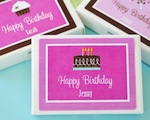 Personalized Birthday Gum Boxes  wedding favors
