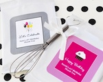 Personalized Birthday Lemonade + Optional Heart Whisk  wedding favors