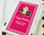 Personalized Birthday Notebook Favors  wedding favors