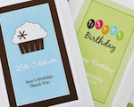 Personalized Birthday Seed Packets  wedding favors