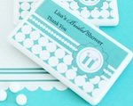 Personalized Mini Mint Favors - Something Blue  wedding favors