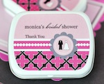 Personalized Mint Tins - Wedding Shower wedding favors