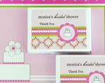 Personalized Gum Boxes - Pink Cake  wedding favors