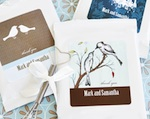 Elite Design Personalized Hot Cocoa with optional whisk wedding favors
