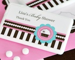 Personalized Mini Mint Favors - Cupcake Party wedding favors