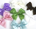 Satin Bows wedding favors