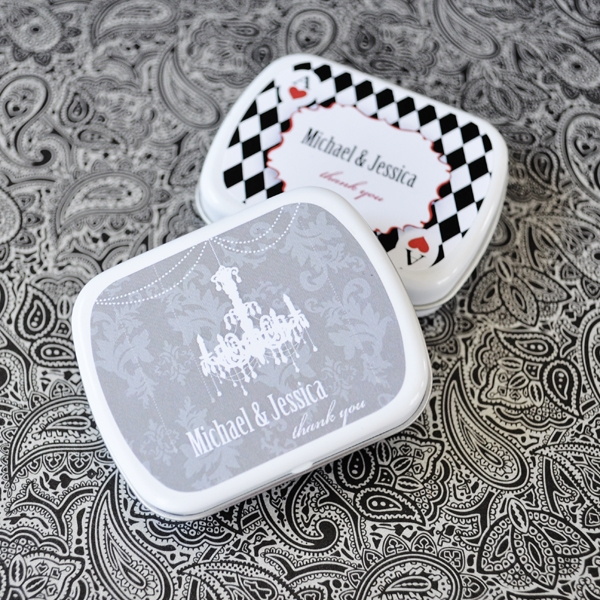 Elite Design Mint Tins wedding favors