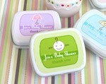Baby Shower Mint Tins wedding favors
