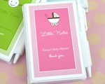 "Personalized ""Little Notes"" Notebook Favors wedding favors"