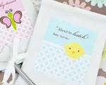 Baby Animals Personalized Lemonade + Optional Heart Whisk  wedding favors