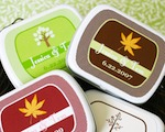 Fall Personalized Mint Tins wedding favors