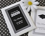 """Hats off to You"" Personalized Graduation Seed Packets wedding favors"