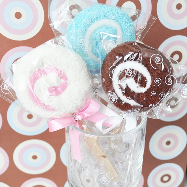 Lollipop Towel Favors wedding favors