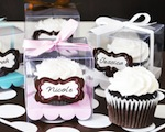 Cupcake Favor Boxes wedding favors