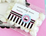 Personalized Jelly Bean Packs - Cupcake Party wedding favors