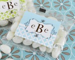 Mod Monogram Jelly Bean Packs  wedding favors