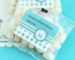 Personalized Jelly Bean Packs - Something Blue  wedding favors