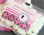 Personalized Jelly Bean Packs - Wedding Shower  wedding favors