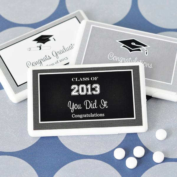Personalized Graduation Mini Mint Favors wedding favors
