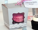 Cupcake 'n' Treats Tote Boxes (Set of 12) wedding favors