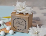 Vintage Favor Boxes (Set of 12) wedding favors