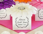 Flower Favor Boxes (Set of 12) wedding favors