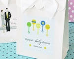Sweet Shoppe Candy Boxes - Elite Design Baby wedding favors