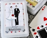 Elite Design Personalized Playing Cards wedding favors