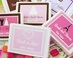 """Stuck on Love"" Gum Boxes wedding favors"