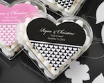 Heart Acrylic Boxes wedding favors