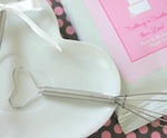 Heart Handle Whisks wedding favors