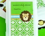 Personalized Playing Cards - Jungle Safari wedding favors