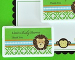 Personalized Mini Mint Favors - Jungle Safari  wedding favors