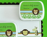 Personalized Mint Tins - Jungle Safari wedding favors