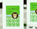 Personalized Muffin Mix - Jungle Safari wedding favors